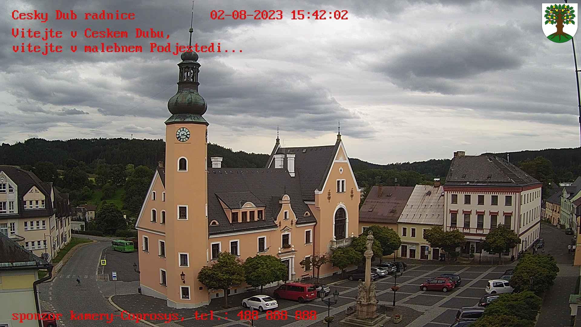 Kamera na żywo - Český Dub