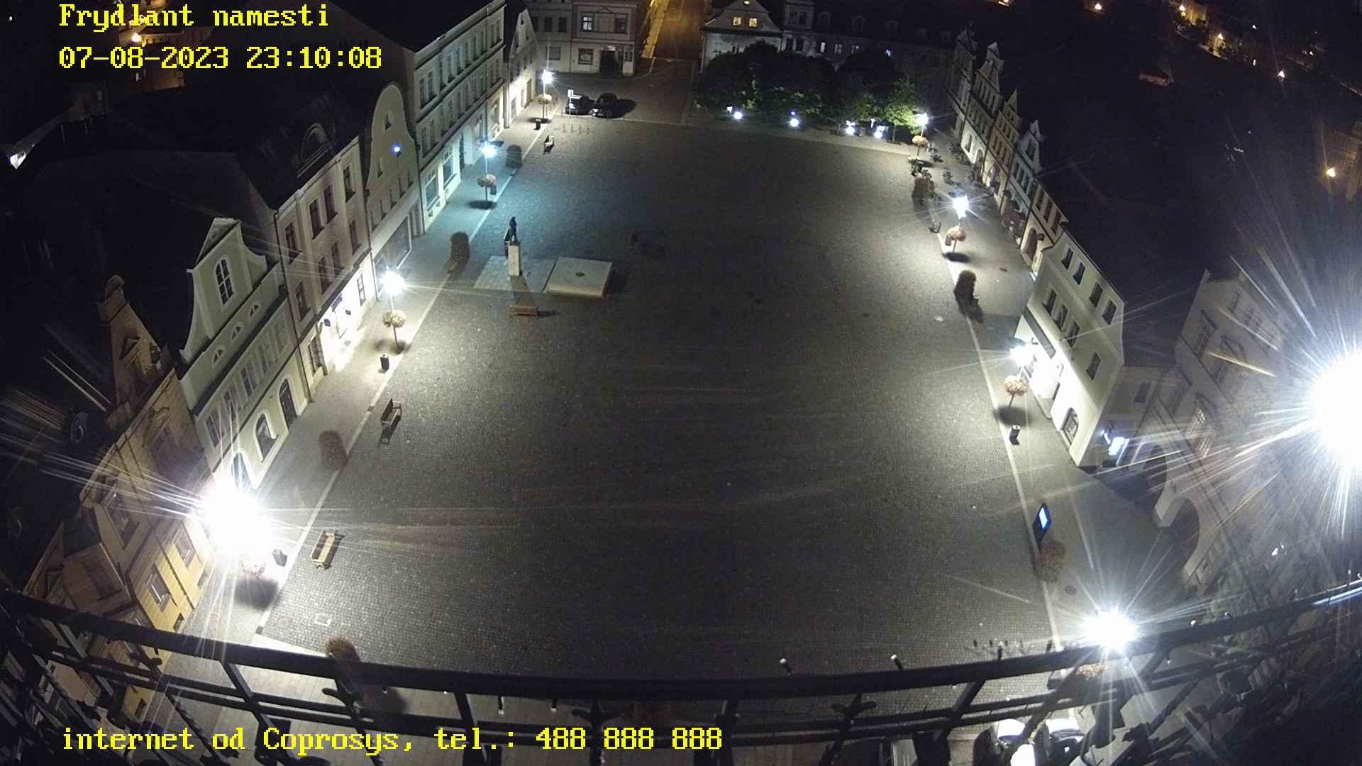 Webkamera Frýdlant - náměstí